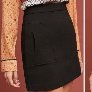 Anthropologie Maeve Novato Mini Skirt